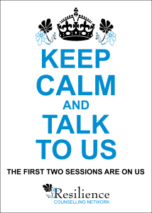 keep calm and talk to us