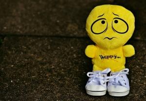 Smiley Emotion Funny Emoticon Sneakers Sad Yellow